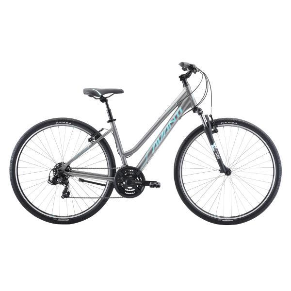 2020 Avanti Discovery 1 Low Womens Silver Teal - Pitcrew.nz