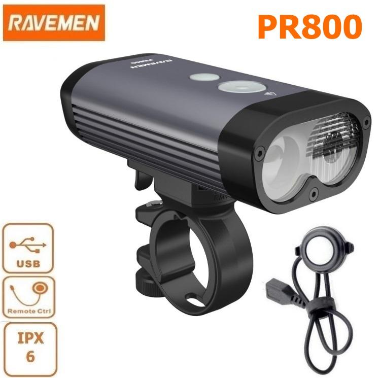 Raveman Front Pr800 USB Light - Pitcrew.nz