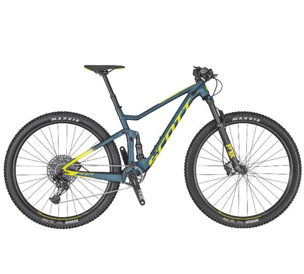 2020 Scott Spark 950 Blue / Yellow - Pitcrew.nz