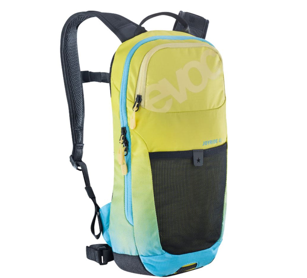 Evoc Joyride 4L Youth backpack Sulphur / Neon Blue - Pitcrew.nz