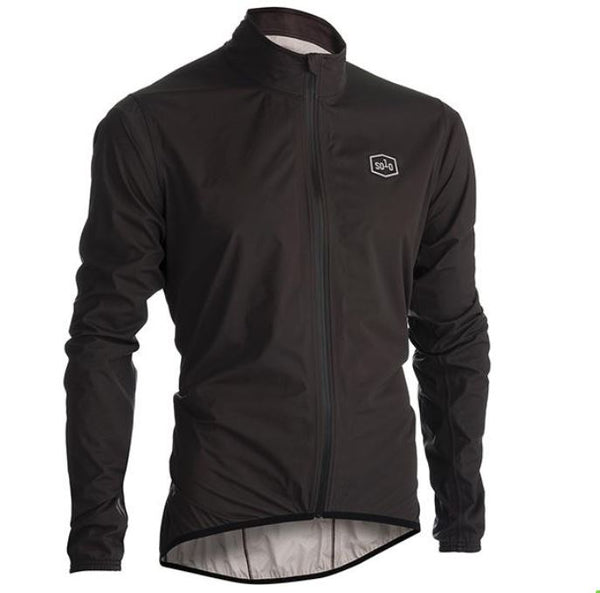 Solo Showerproof Jacket Grey - Pitcrew.nz