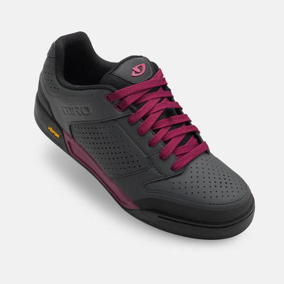 Giro Riddance Womens MTB Shoes Grey / Berry Pink - Pitcrew.nz