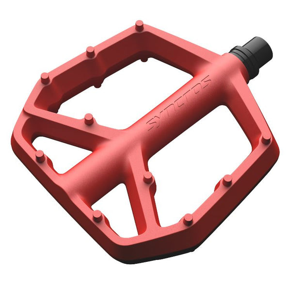 Syncros Squamish 3 Flats Pedals Large var col Bike Parts Syncros Florida Red