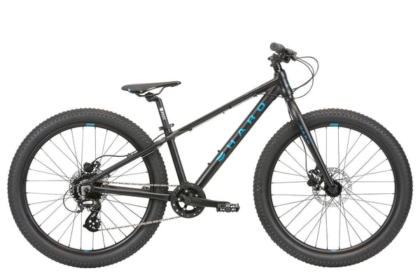 2020 Haro Flightline 24 Plus Disc Black Blue - Pitcrew.nz