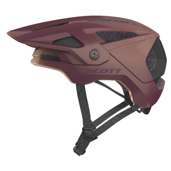Scott Stego Plus Helmet / Nitro Purple Bike Parts Scott S