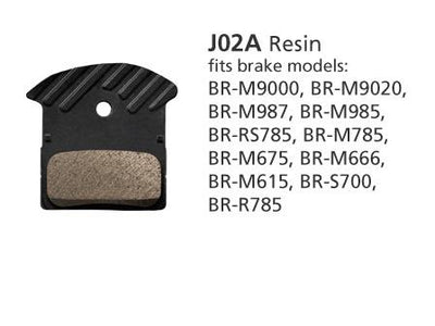Shimano M9000 J02A Disc Brake pads - Pitcrew.nz