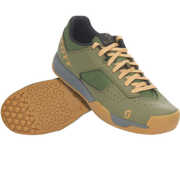 Scott MTB AR Shoe Moss Green - Pitcrew.nz