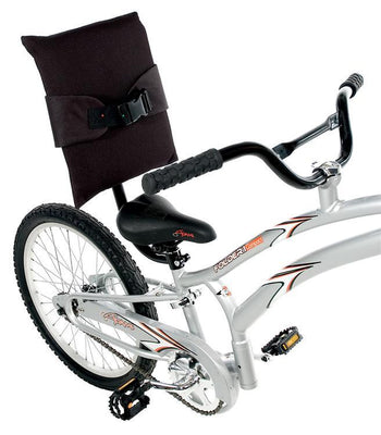 Adams Bicycle Back Rest with Seat Belt