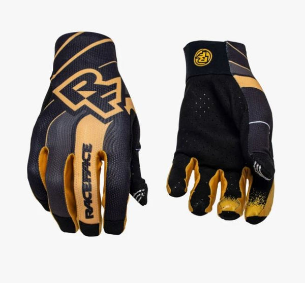Raceface Indy Gloves Dijon Gold Bike Parts Raceface S