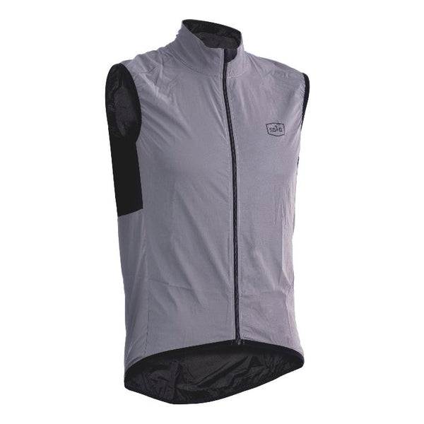 Solo Reflective Vest Grey - Pitcrew.nz