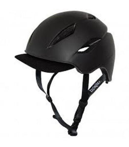 Kali Danu Solid Matte Black Helmet - Pitcrew.nz