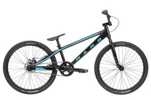 2020 Haro Racelite Pro 24 21.75tt Black Race BMX - Pitcrew.nz