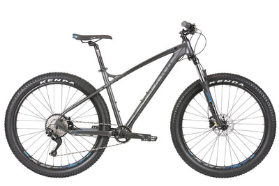 2020 Haro Double Peak Comp Trail Plus 27.5 Matte Charcoal - Pitcrew.nz