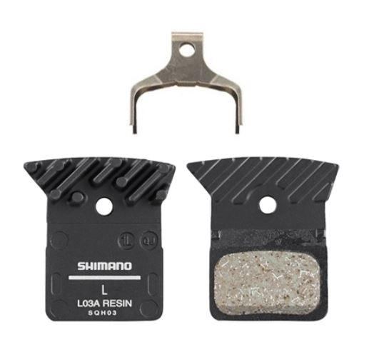 Brake Pads Shimano Dura-Ace Ultegra L03A Resin Finned - Pitcrew.nz