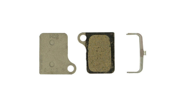 Shimano Disc brake pads Deore M555 M02 Resin Steel - Pitcrew.nz