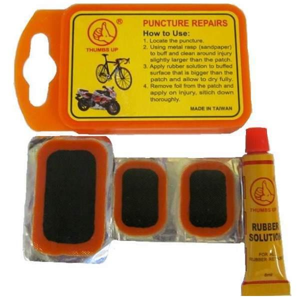 Puncture Repair Kit Orange - Pitcrew.nz