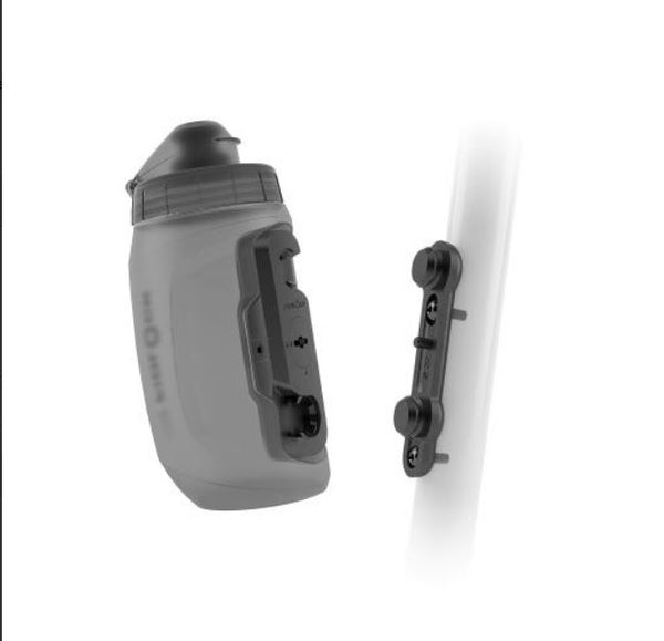 Fidlock Twist Bottle & Mount 450mL Smoke Bike Parts Fidlock