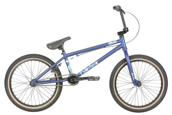 2019 Haro Downtown Matte Blue 20.5tt BMX bike - Pitcrew.nz