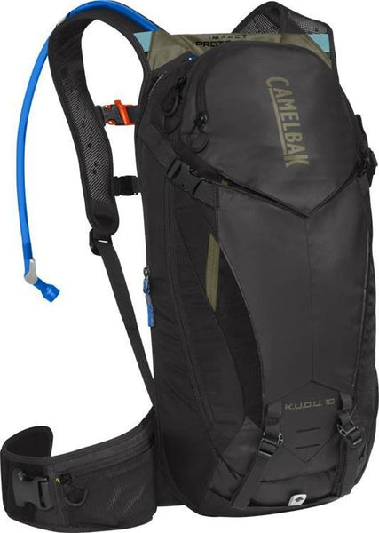 Camelbak K.U.D.U Protector 10 3L Black/Olive Hydration Pack - Pitcrew.nz