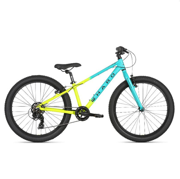 2021 Haro Flightline 24 Plus Matte Teal Yellow - Pitcrew.nz