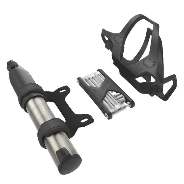 Syncros Tailor iS Bottle Cage 2.0V with pump / toolkit - Pitcrew.nz