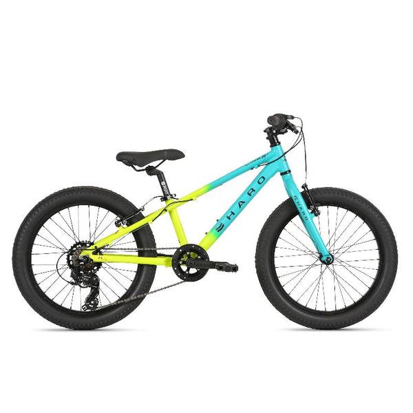 2021 Haro Flightline 20 Plus Matte Teal / Yellow - Pitcrew.nz