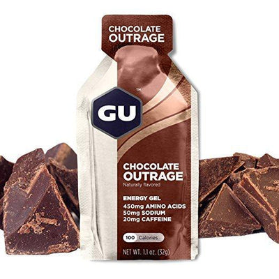 Gu Energy Gel Chocolate Outrage - Pitcrew.nz
