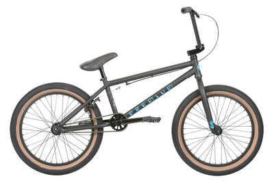 2019 Premium Inspired 20.5tt Matte Black BMX - Pitcrew.nz