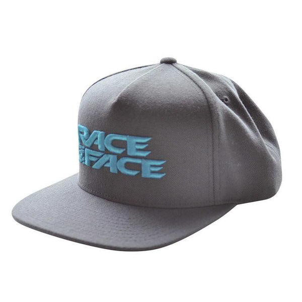 Race Face Porter Snap Back Cap Charcoal - Pitcrew.nz