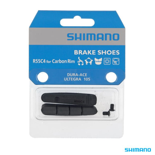 Shimano Resin R55C4 Brake Shoes for carbon rim - Pitcrew.nz