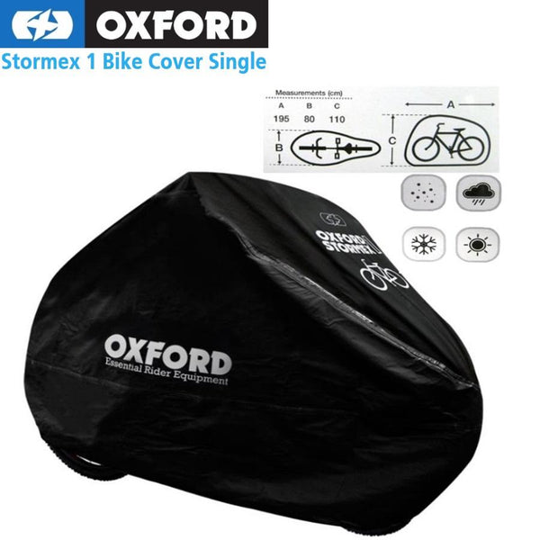 Oxford Stormex single bike cover - Pitcrew.nz