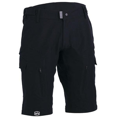 Solo Womens MTB Tech Shorts Black - Pitcrew.nz