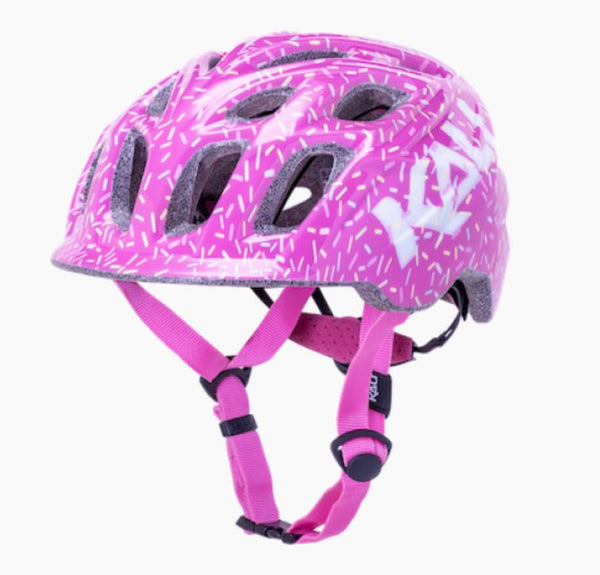 Kali Chakra Child Sprinkles Helmet Pink SML - Pitcrew.nz