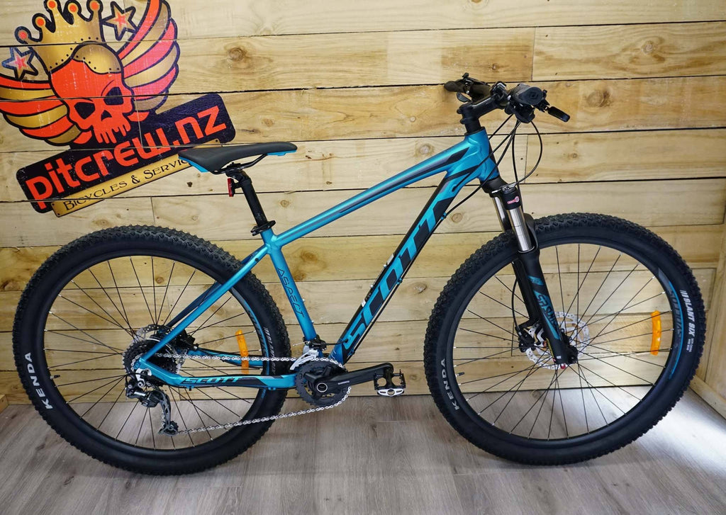 2019 Scott Aspect 930 blue / grey