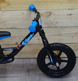Haro Prewheelz Z12 Black balance bike - Pitcrew.nz