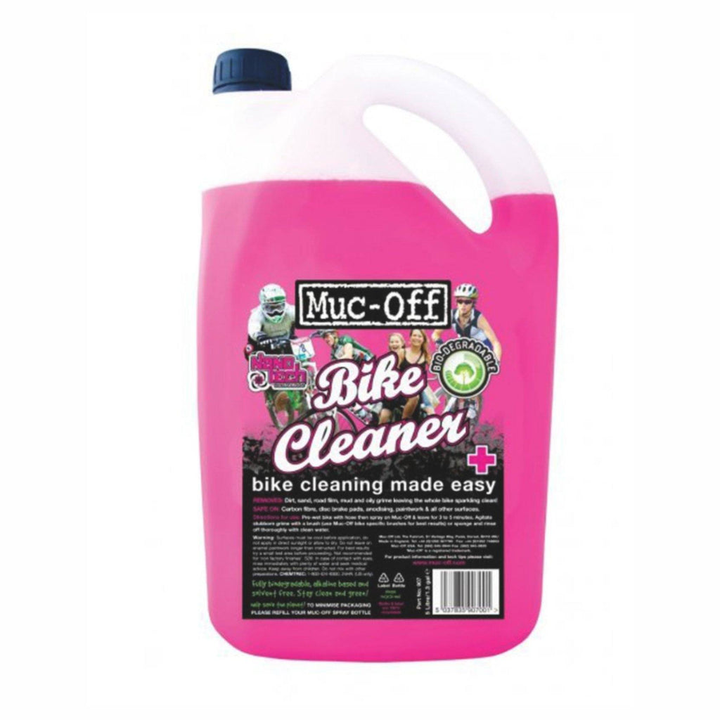 Muc Off Nano wash cleaner Pink 5 litre 907 - Pitcrew.nz