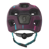 Scott Spunto Kids Helmet w/light Deep Purple - Pitcrew.nz