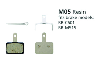 Shimano M05 Resin Disc Brake pads - Pitcrew.nz