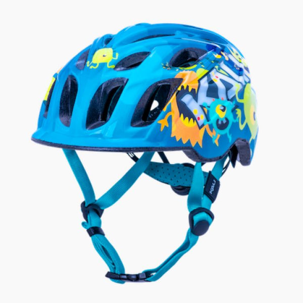 Kali Chakra Child Helmet Monsters Blue XS - Pitcrew.nz