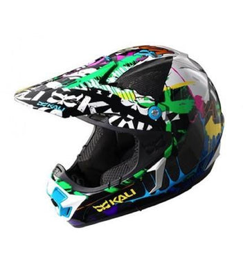 Kali Avatar II Carbon Graffiti full face helmet
