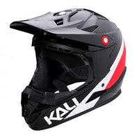 Zoka Pinner Full Face Youth Helmet Black/Red/White - Pitcrew.nz