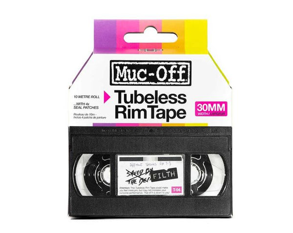 Muc Off Rim Tape 10m roll 30mm - Pitcrew.nz