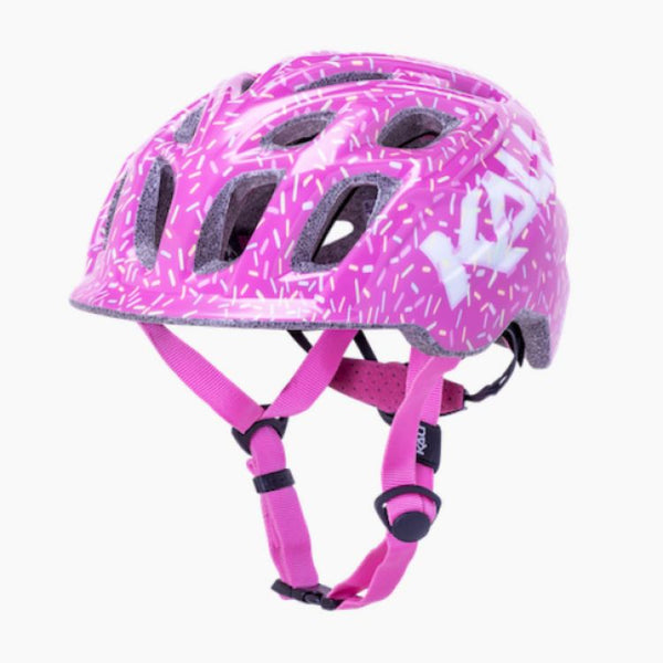 Kali Chakra Child Sprinkles Helmet Pink XS - Pitcrew.nz