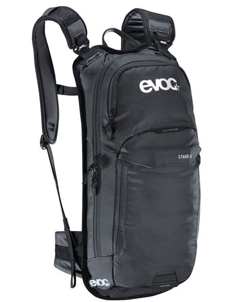 Evoc Stage 6L +2L Bladder Performance Backpack Black - Pitcrew.nz