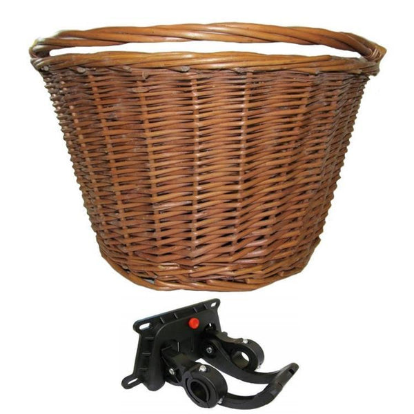 Cane Bike Basket W/QR Bracket - Pitcrew.nz