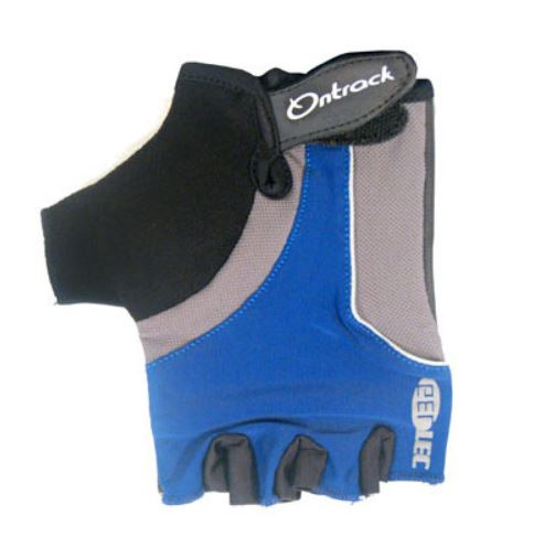 Ontrack Kids Fingerless Gloves Blue - Pitcrew.nz