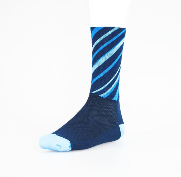 Solo High Icon Ascent Socks navy blue - Pitcrew.nz