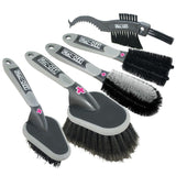 Muc Off cleaning brush kit 5 pack - Pitcrew.nz