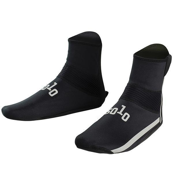 Solo Overshoes Neoprene Black - Pitcrew.nz
