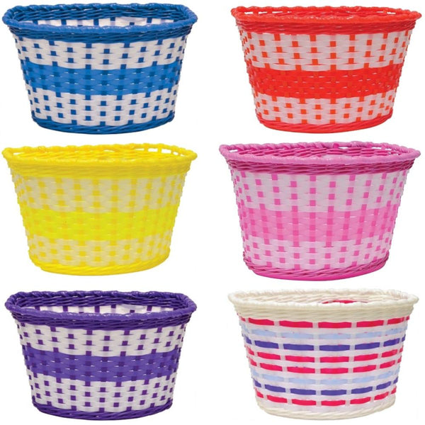 Basket - Oxford Junior Plastic Basket Multi - Pitcrew.nz